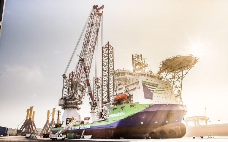 Bedrijfsfotografie van een havenbedrijf