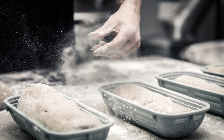 Bedrijfsfotografie van een bakker
