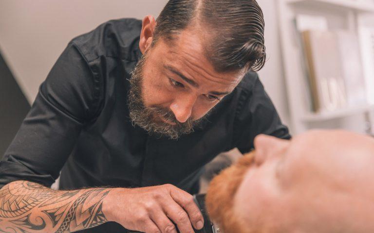 Bedrijfsfotografie van een kapper