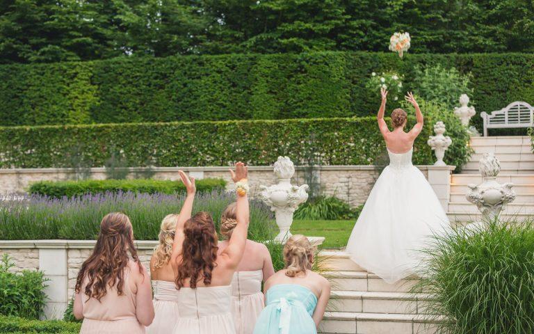 evenement fotografie van een bruid op haar bruiloft