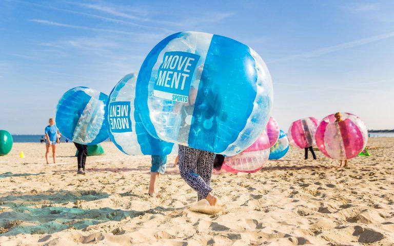evenement fotografie van een strand met sport