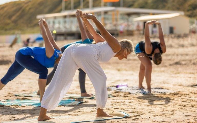 evenement fotografie van yoga