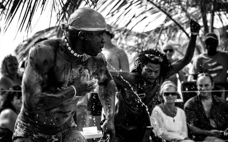 evenement fotografie van een strijder
