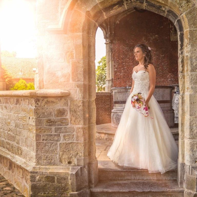 portret van een bruid