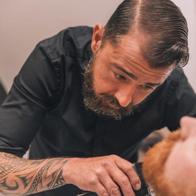 portret van een kapper