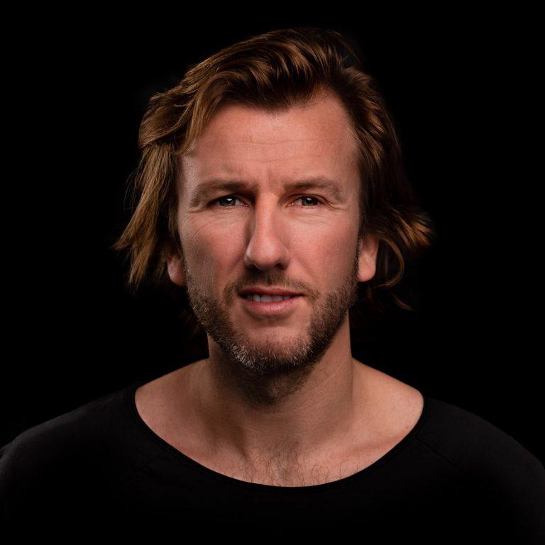 Portret foto van een man